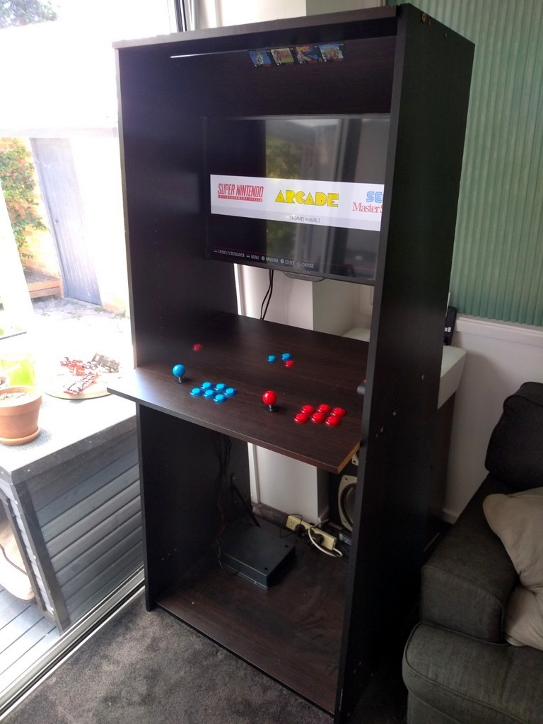Old wardrobe gets second life as a retro arcade machine Best Children's Lighting & Home Decor Online Store