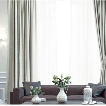 Thick Linen Blackout Window Curtains Best Children's Lighting & Home Decor Online Store