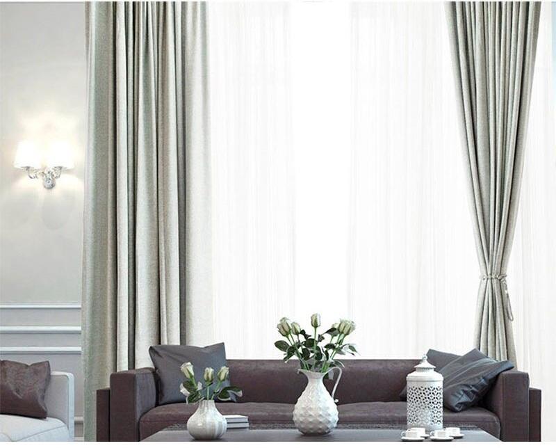 Chenille High Shadeing Window Curtain Best Children's Lighting & Home Decor Online Store