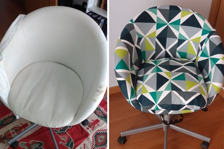 ikea skruvsta chair cover replacement