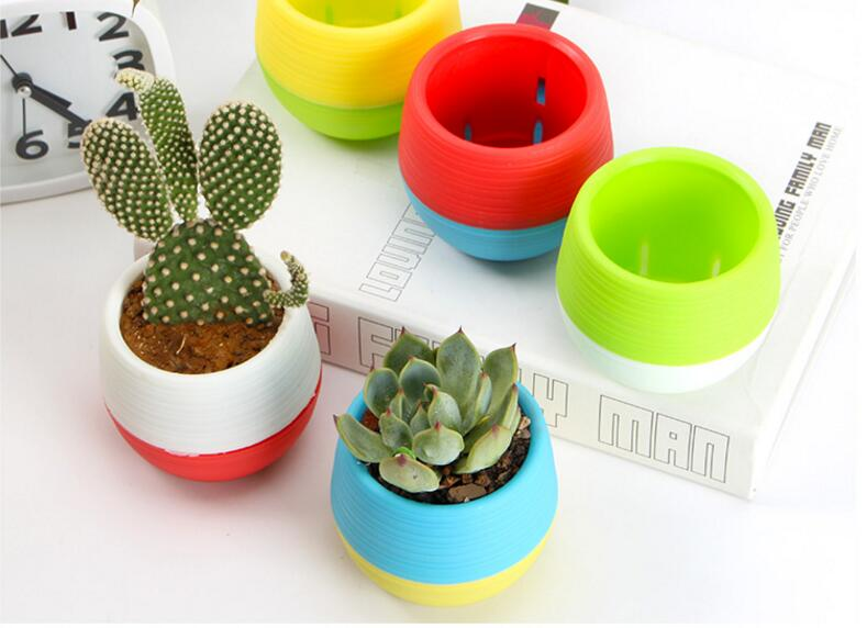 10/5 Pieces Square Round Flower Pots Best Children's Lighting & Home Decor Online Store