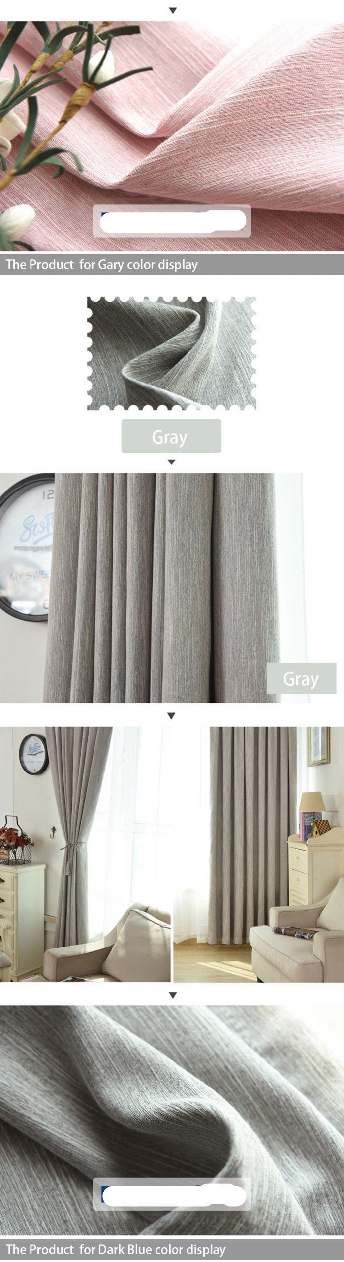 Chic High Density Window Curtain