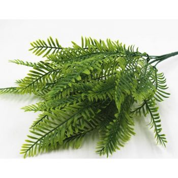 1Pcs Artificial Flower Leaves Plants Pretty Fake Lifelike Plastic Persian Grass Lysimachia Fern floral decoration Best Children's Lighting & Home Decor Online Store
