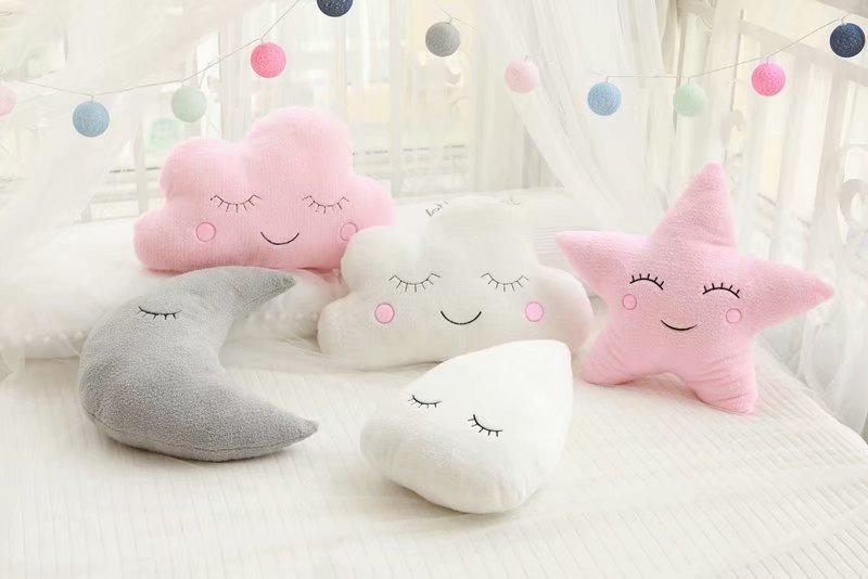 Plush Sky Sleeping Pillow Best Children's Lighting & Home Decor Online Store