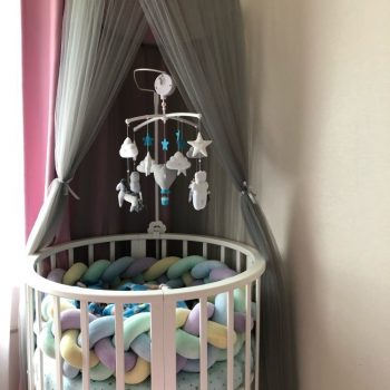 Crown Dome Bed Canopy- Play Room Decor