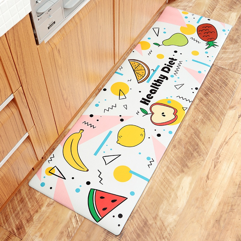 Kitchen Mat Waterproof/Oil-proof/ PVC Leather/Anti-fatigue Kitchen Carpet/Non-slip/Wear-resistant Best Children's Lighting & Home Decor Online Store