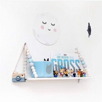 3D Wooden Cloud Wall Sticker Best Children's Lighting & Home Decor Online Store