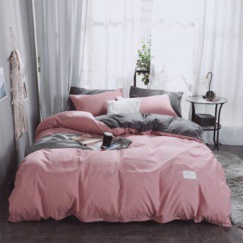 Double Color Bedding Set