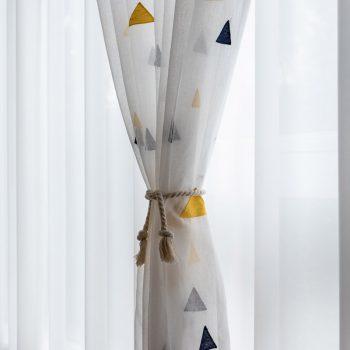 Sheer Tulle for Living Room Modern Home Decorative Curtains Study Kids Room Best Children's Lighting & Home Decor Online Store