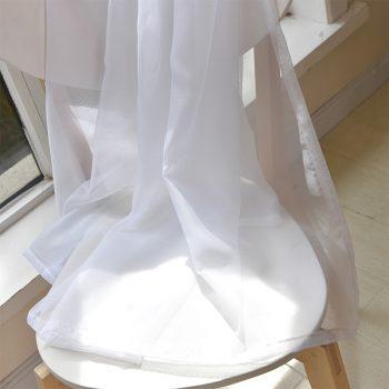 Solid White Tulle/Sheer - Modern Curtains for Living Room Best Children's Lighting & Home Decor Online Store