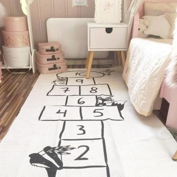 Hopscotch Play Mat For Kids Best Children's Lighting & Home Decor Online Store