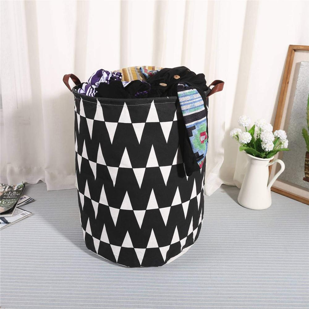Large Folding Laundry Basket Storage box Barrel For Storing Toys & Laundry Best Children's Lighting & Home Decor Online Store