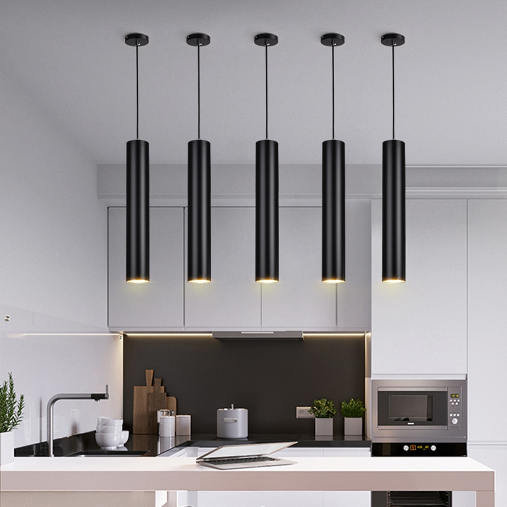 Long Tube Island Kitchen Pendant Lamp Best Children's Lighting & Home Decor Online Store