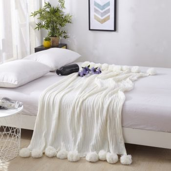 Cotton Throw For Your Bedroom &Amp; Living Room