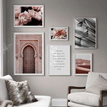 Flower Desert Living Room Decor Best Children's Lighting & Home Decor Online Store