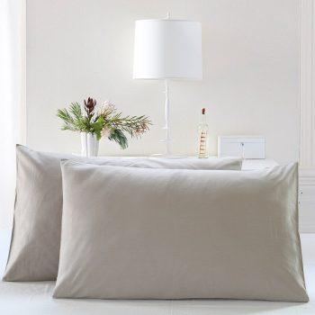 2 pieces Cotton Pillowcases - Solid Colors Best Children's Lighting & Home Decor Online Store