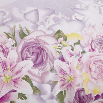 Purple Pastoral Solstice Flowers Style 4pcs Bedding Set Best Children's Lighting & Home Decor Online Store