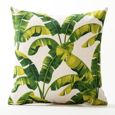 Yellow bottom leaves simple garden Cushion Covers 45X45Cm Best Children's Lighting & Home Decor Online Store