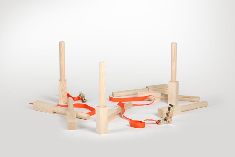 Cell-Like Blocks Create Each Piece Of The Cell Series Furniture
