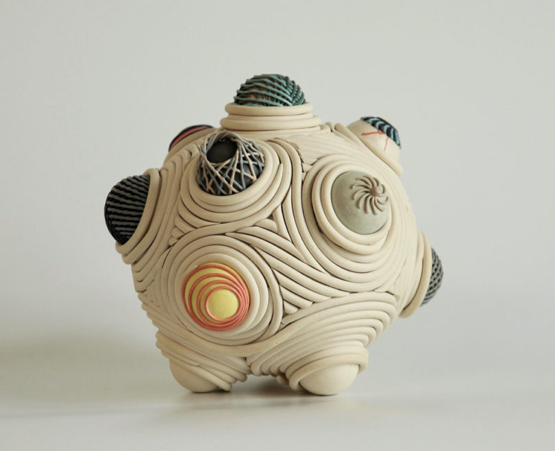 These Ceramic Sculptures By Colleen Carlson Reveal An Intricate Inner World