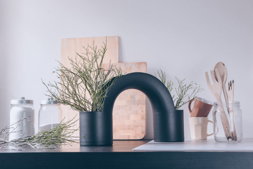 A Bridge-Inspired Vase Collection by Mario Alessiani for XLBoom Best Children's Lighting & Home Decor Online Store