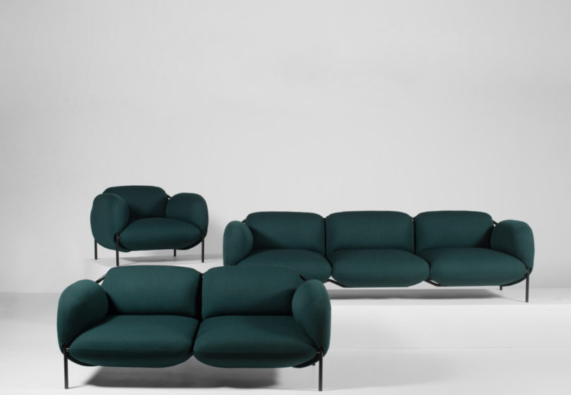 The Bouncy, Voluptuous Dapper Seating By Mitab