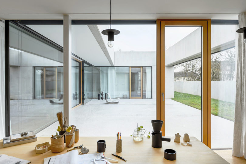 An Atrium House That's a Ceramics Studio and a Family Home in One Best Children's Lighting & Home Decor Online Store