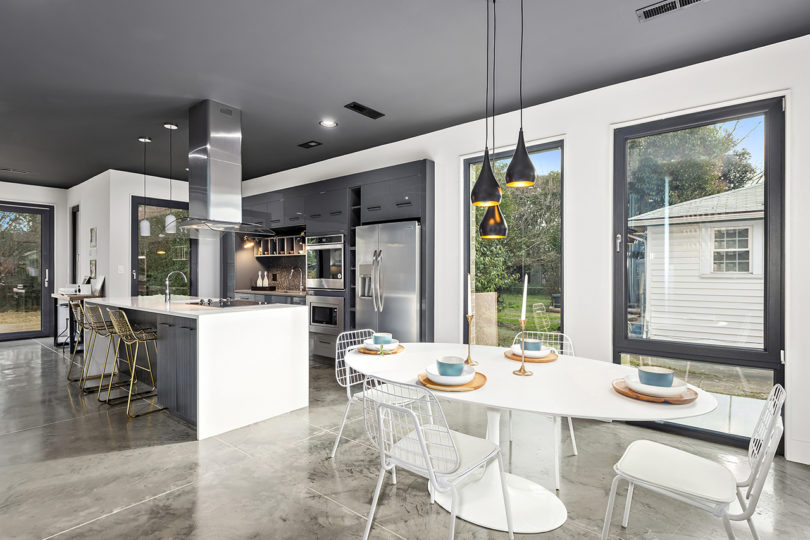 A Small Modern Home with a Big Impact in Charlotte Best Children's Lighting & Home Decor Online Store