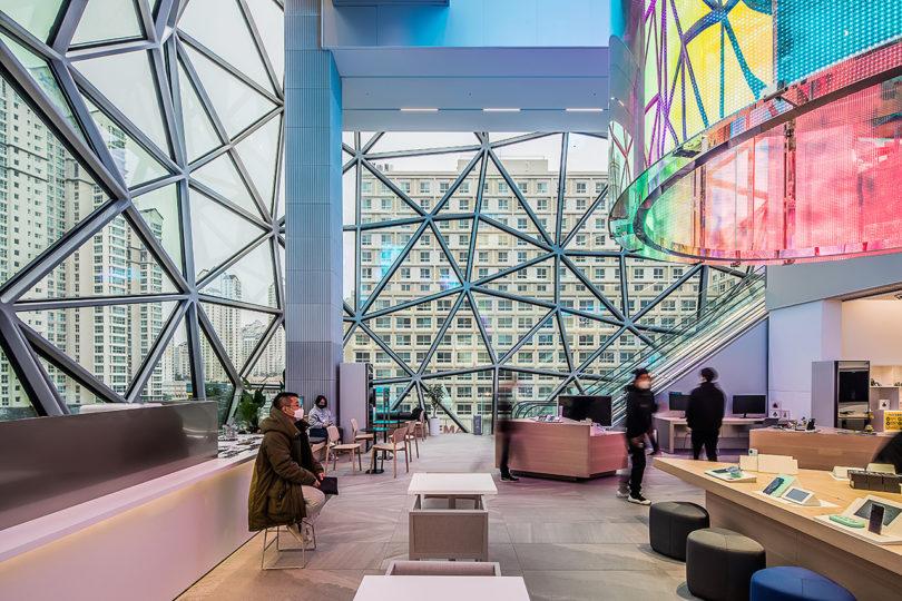 Galleria's New Department Store in Gwanggyo Is a Mosaic Work of Art Best Children's Lighting & Home Decor Online Store