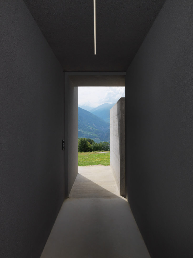 Ralph Germann's Linear ROFR House Acts as a Shield for the Swiss Slopes Above Best Children's Lighting & Home Decor Online Store