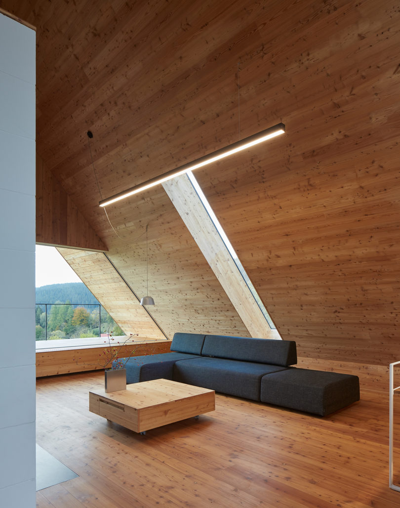 A Concrete + Wood A-Frame Blends Into the Beskydy Mountains Best Children's Lighting & Home Decor Online Store