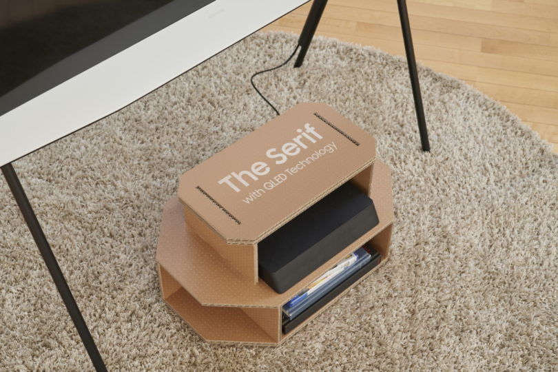 Samsung Eco-Friendly TV Packaging Turns Into Your Pet's New Playground Best Children's Lighting & Home Decor Online Store