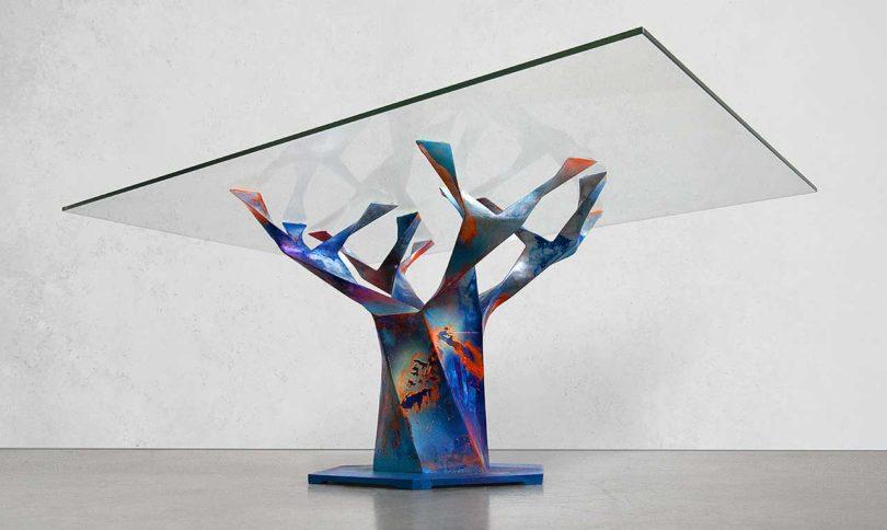 The Teâshí Coffee Table Is Given New Life by Artist Callen Schaub Best Children's Lighting & Home Decor Online Store