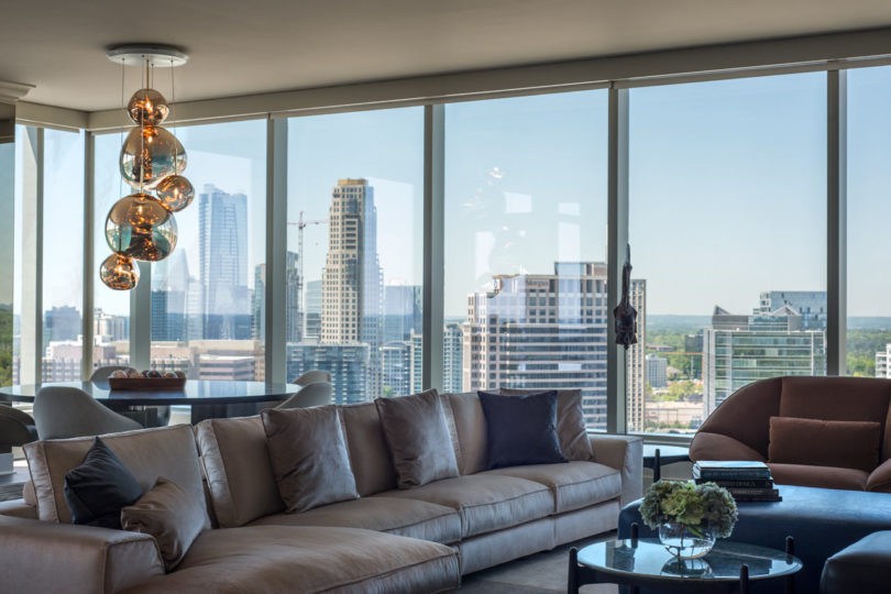 A Sky Rise Condo in Atlanta Undergoes a Sophisticated Renovation Best Children's Lighting & Home Decor Online Store