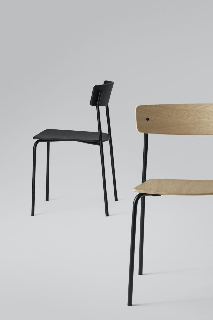 The Minimalist Cross Chair Tube by PearsonLloyd for Takt Best Children's Lighting & Home Decor Online Store
