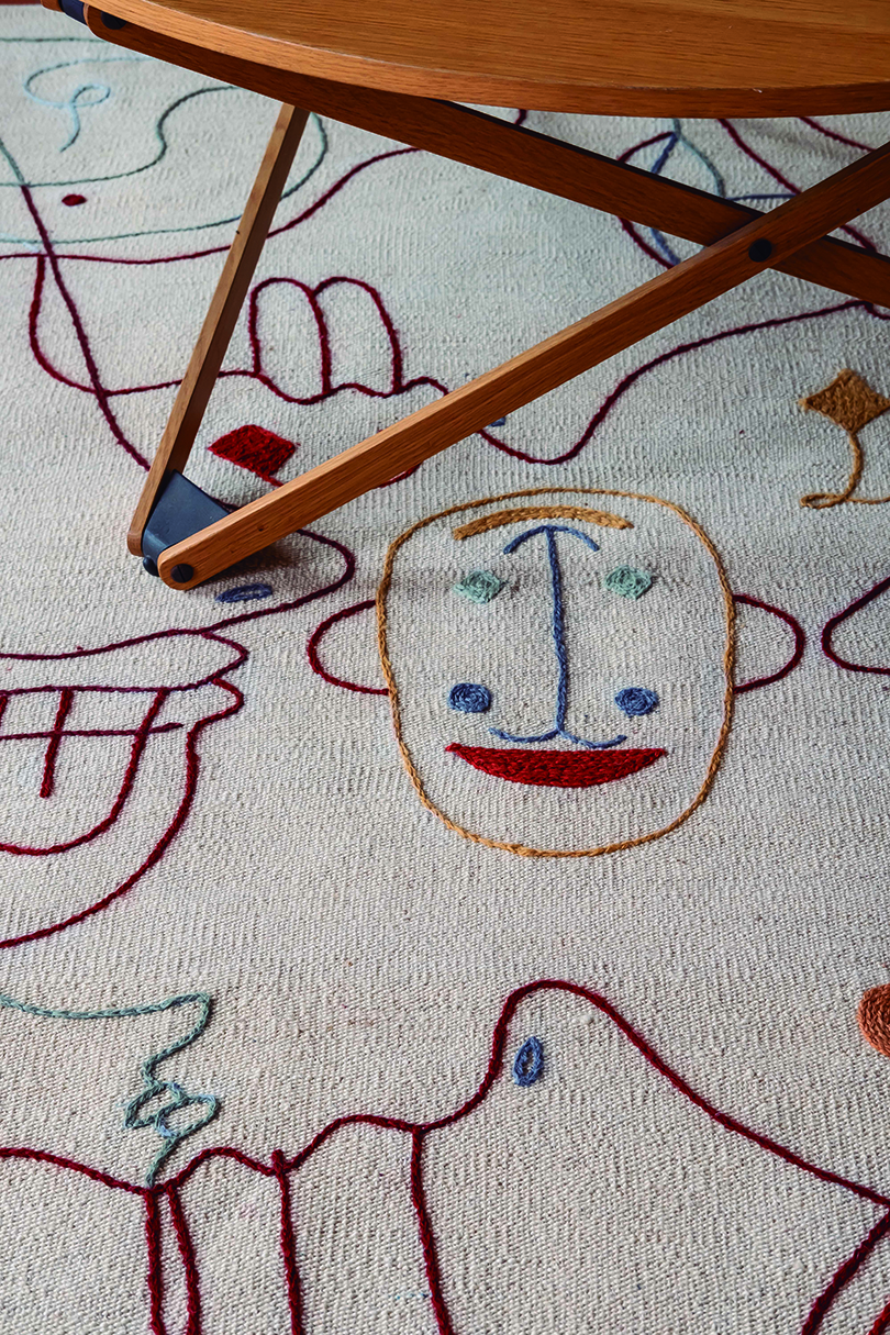 Silhouette Rugs Have Their Eye on You Best Children's Lighting & Home Decor Online Store