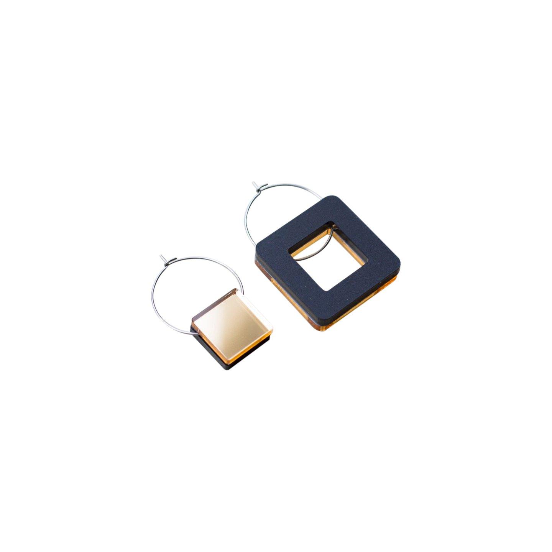 Primario Square Earrings