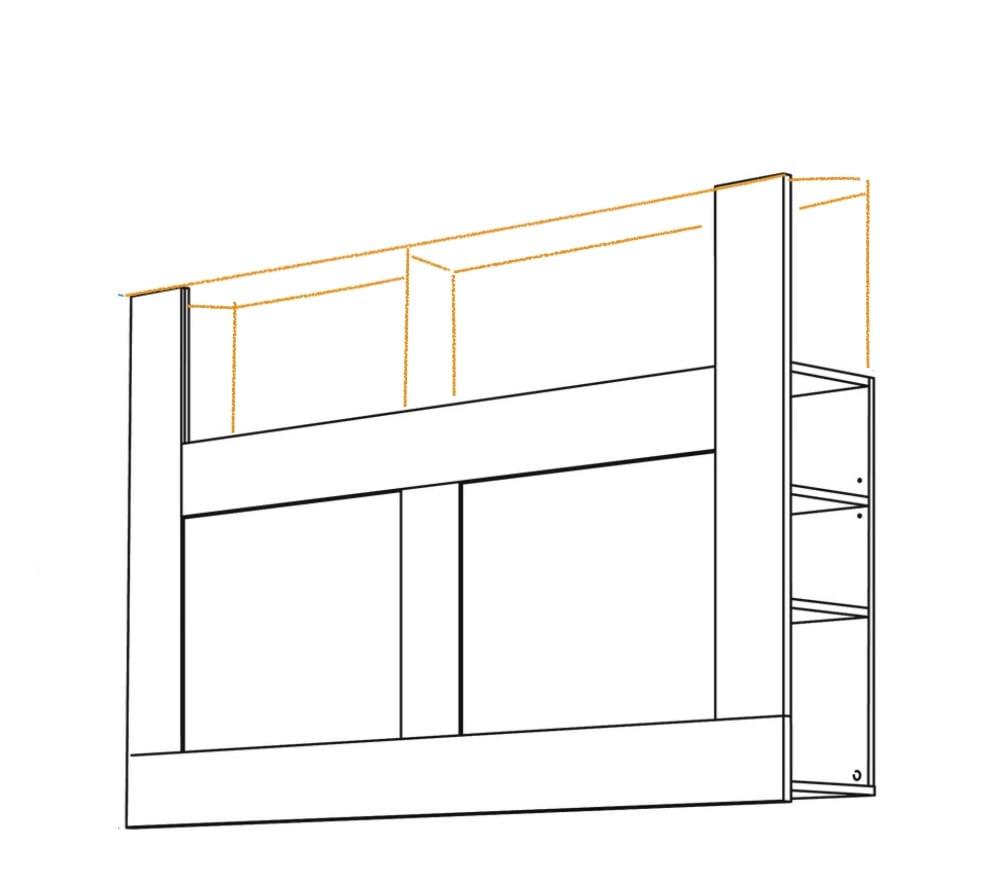 taller BRIMNES headboard ideas