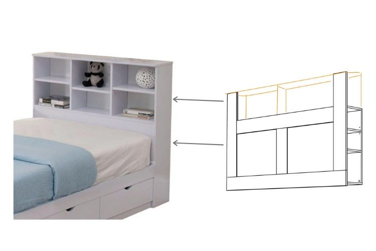 Home Depot bed