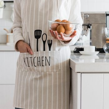 Adjustable Kitchen Apron With Pockets