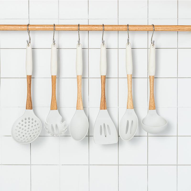 Premium Silicone Kitchen Cooking Utensils Set