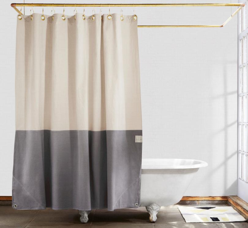 Orient Storm Shower Curtain
