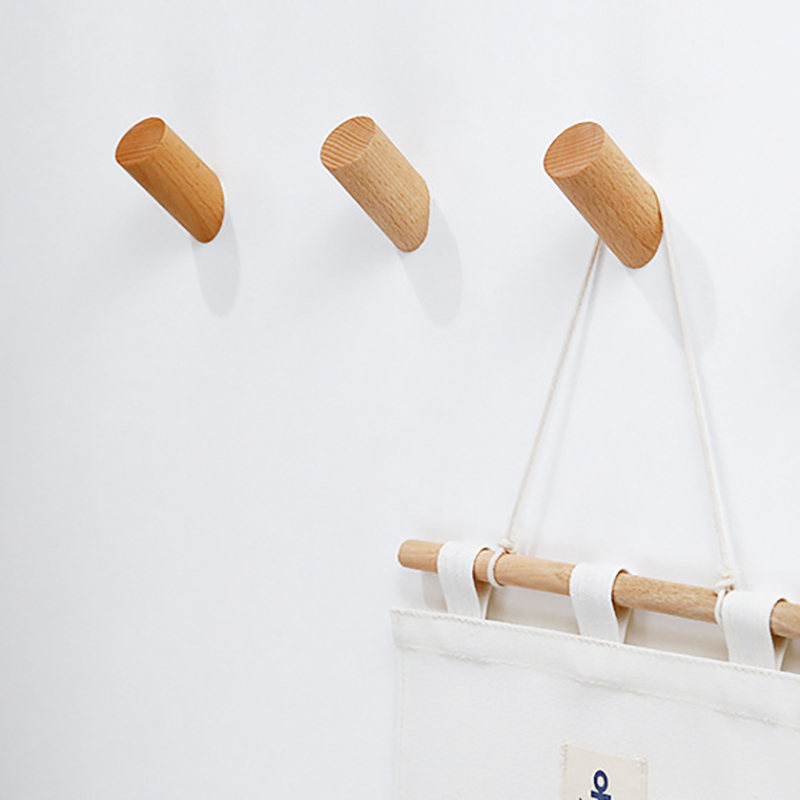 Sqinans Natural Wood Hooks/Clothes Hanger Best Children's Lighting & Home Decor Online Store