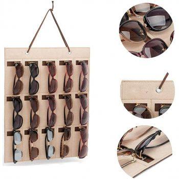 sunglasses organizer