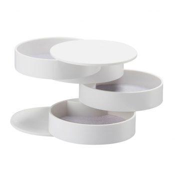 Round Jewelry Storage Box 4-Layer Rotatable Jewelry Storage Best Children's Lighting & Home Decor Online Store