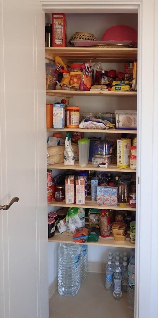 small storage closet