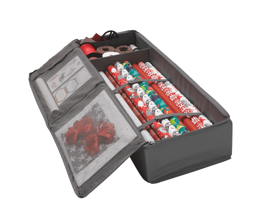 IKEA Skubb wrapping paper storage case