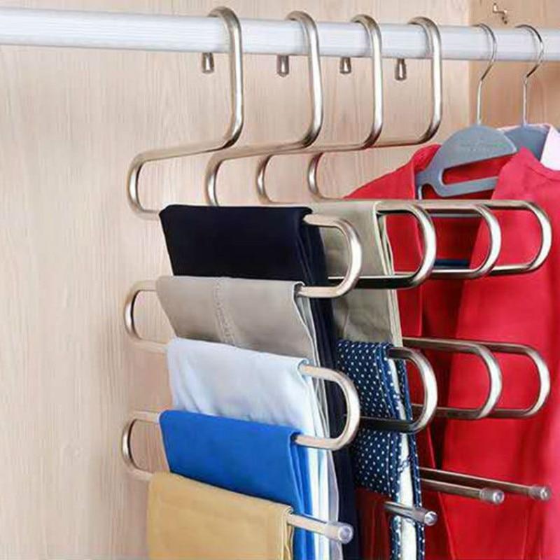 Trouser Hanger For Hangings trousers/ties - multi-layer trouser rack Best Children's Lighting & Home Decor Online Store