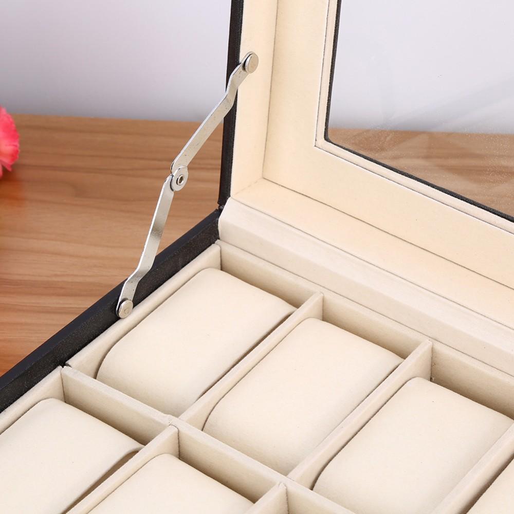 Watch Organizer &Amp; Storage Box With A Clear Lid