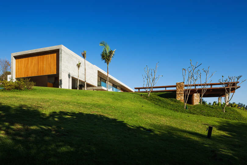 A Concrete Home in Brazil Split Into Levels for Night and Day Best Children's Lighting & Home Decor Online Store